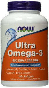 Ultra Omega 3 180 Softgels NOW Foods