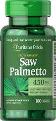 Saw Palmetto 450 mg 100 Caps PURITANS Pride
