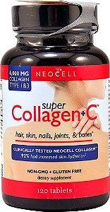 Super Colageno + Vitamina C 6000 mg 120 Tablets NEOCELL