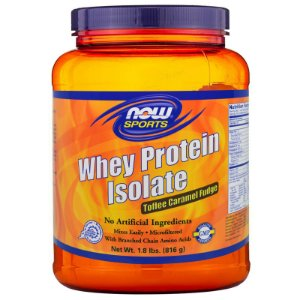 Whey protein isolate Proteína Isolada 816g NOW Foods