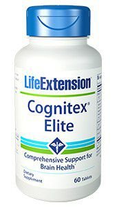 Cognitex Elite with brain health support 60 tablets LIFE Extension