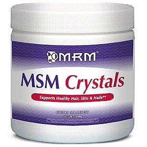MSM Crystals Net Wt. 200g - MRM VALIDADE 11/2019