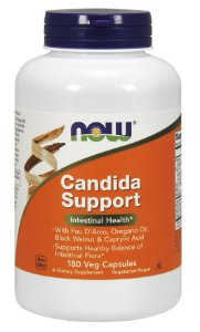 Candida Support 180 Veg Capsules NOW Foods