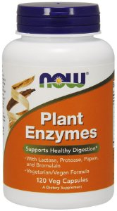 Plant Enzymes 120 Veg Capsules NOW Foods