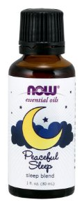Óleo essencial blend de Peaceful Sleep 1oz 30ml NOW Foods