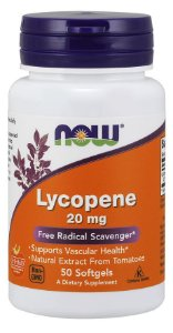 Lycopene 20 mg 50 Softgels NOW Foods