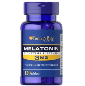Melatonina 3 mg 120 tablets PURITANS Pride