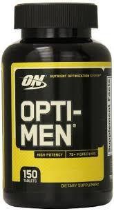 Opti men 150 tablets ON