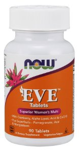 Eve Women's Multiple Vitamin 90 Tablets NOW Foods