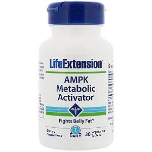 AMPK Metabolic Activator Life Extension 30 vegetarian tablets - FRETE  GRÁTIS