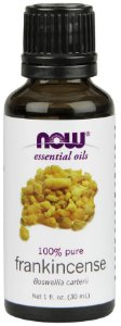 Óleo essencial de Frankincense olíbano 100% puro 1oz 30ml NOW Foods