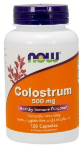 Colostrum 500 mg  120 Veg Capsules NOW Foods FRETE GRATIS