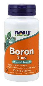Boron 3 mg 100 Veg Capsules NOW Foods