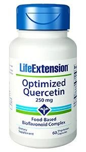 Optimized Quercetin 250mg 60 veg capsules LIFE Extension