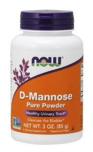 D Mannose Powder 85g NOW Foods