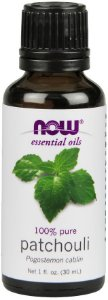 Óleo essencial de patchouli 1oz 30ml NOW Foods