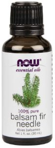 Óleo essencial Balsam fir Needle Bálsamo 1oz 30ml NOW Foods