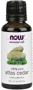Óleo essencial de Atlas Cedar cedro atlas 1oz 30ml NOW Foods