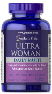 Ultra Woman Daily Multi 90 caplets PURITANS Pride