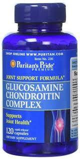 Glucosamine Chondroitin Complex 120 capsules PURITANS Pride