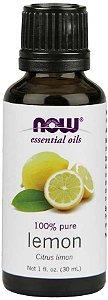 Óleo essencial de Lemon limão siciliano 1oz 30ml NOW Foods