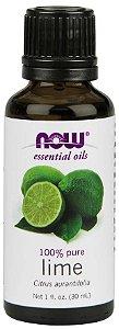 Óleo essencial de Lime Limão 1oz 30ml NOW Foods