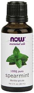 Óleo essencial de Spearmint hortelã 1oz 30ml NOW Foods