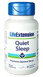 Quiet Sleep 60 capsulas LIFE Extension