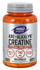 Kre Alkalyn Creatine 120 Capsules NOW Foods