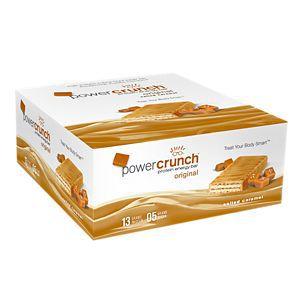 Power Crunch Salted caramel Barrinha Caixa com 12 unidades FRETE GRATIS