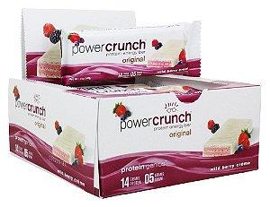 Power Crunch Wild Berry Creme Barrinha Caixa com 12 unidades FRETE GRATIS