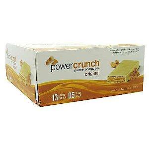 Power Crunch Peanut Butter Creme Barrinha Caixa com 12 unidades FRETE GRATIS