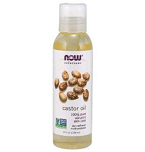 Castor oil Oleo de mamona 4 oz NOW Foods