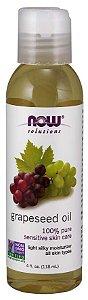 Óleo de uva Grapeseed oil 4 oz 118ml NOW