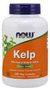 Kelp 325 mcg 250 Veg Capsules NOW Foods