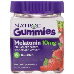 Melatonina gummies 10 mg 90 count strawberry NATROL