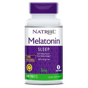 Melatonina 3mg TIME RELEASE 100 tablets NATROL