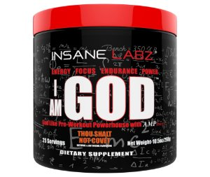 I am God 25 servings 298g INSANE Labz FRETE GRATIS
