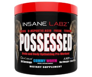 Possessed 30 servings INSANE Labz FRETE GRATIS