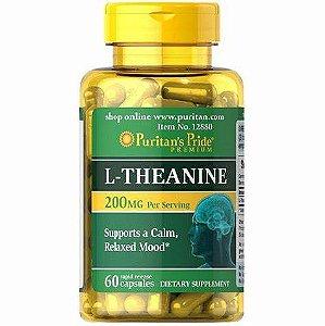 L theanine teanina 60 rapid capsules PURITANS PRIDE