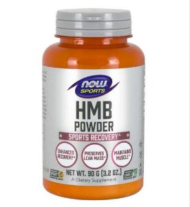 HMB Powder em pó 90g 3.2oz NOW Foods