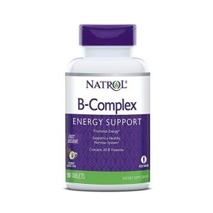 B complex Energy support Fast Dissolve sublingual sabor coco 90 tablets NATROL