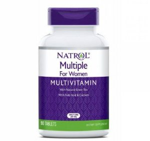 Multivitaminico para mulher Multiple for women 90 tablets NATROL