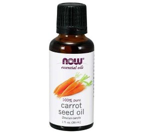 Oleo de semente de cenoura Carrot Seed Oil 1oz 30ml NOW Foods
