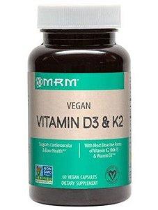 Vitamina D3 E K2 60 Vegan capsules MRM