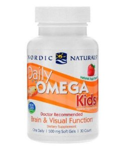 Daily Omega Kids 30 count NORDIC Naturals
