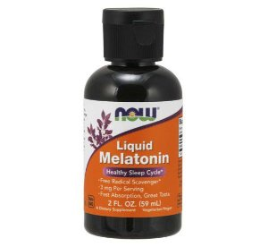 Melatonina liquida 59ml NOW Foods