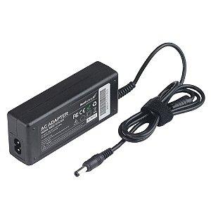 Fonte para note Positivo/Toshiba 19V - 3.42 Amp - 65 Watts