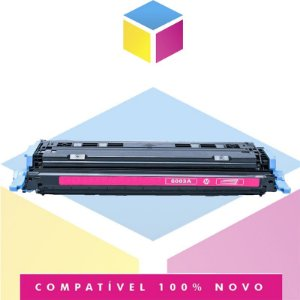 Toner Compatível HP Q6003A Q6003AB Magenta | 2605DN 2600 2600N 2600DTN | 2k