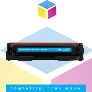 Toner Compatível HP W2021A 414A Ciano | SEM CHIP | M454DW M454DN M479FDW M479DW | 2.1k